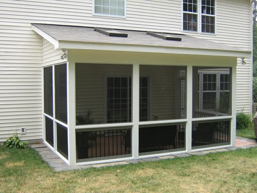 Slab Home By Wilmington Deck And Screen Porch Builder Serving