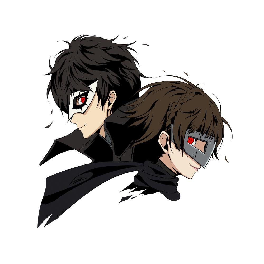 Pin De Yan Em Persona 5 Persona Anime Jogos