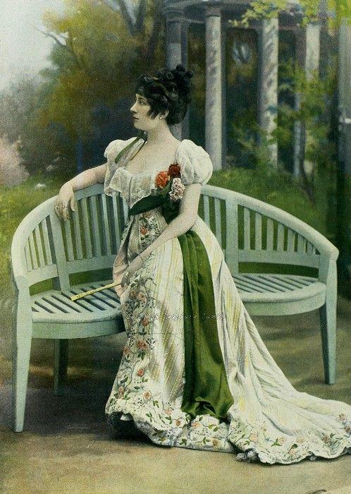 carolathhabsburg:  Mlle Avril. 1908