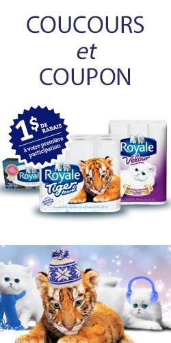 Gagnez un an de produits Royale. Fin le 2 mars.  http://rienquedugratuit.ca/concours/gagnez-un-an-de-produits-royale/