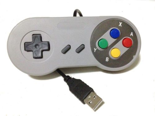 Super Nintendo USB Controllerb SNES PC Gamepads SNES