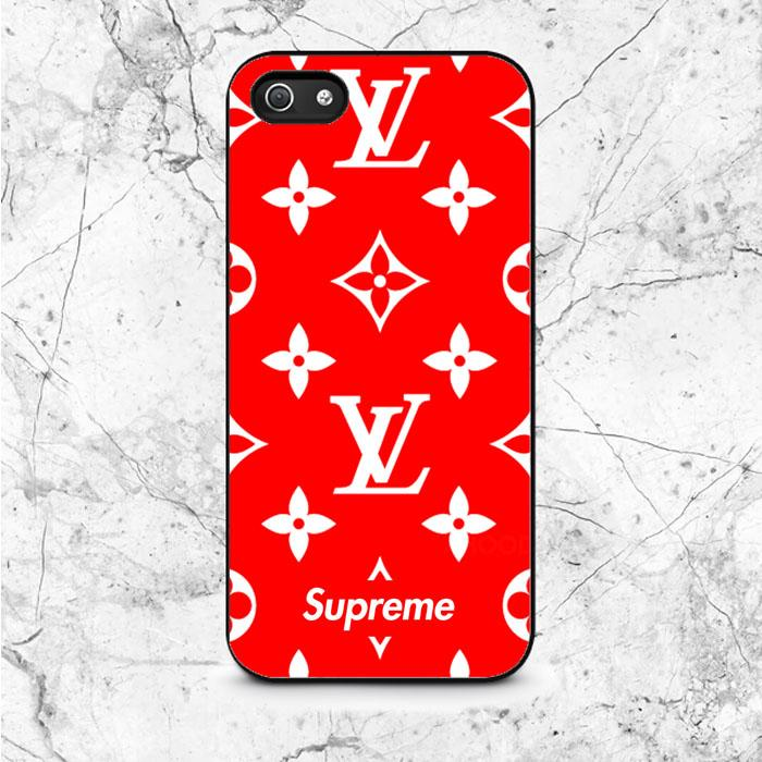 new arrival 2114e 9a5dc Louis Vuitton X Supreme iPhone 5|5S|SE Case | IPHONE 5 | 5S | SE CASE