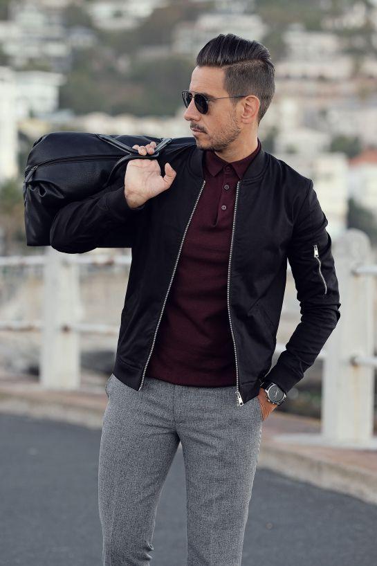 Mens Style Menswear Mens Fashion Street Style Casual Black