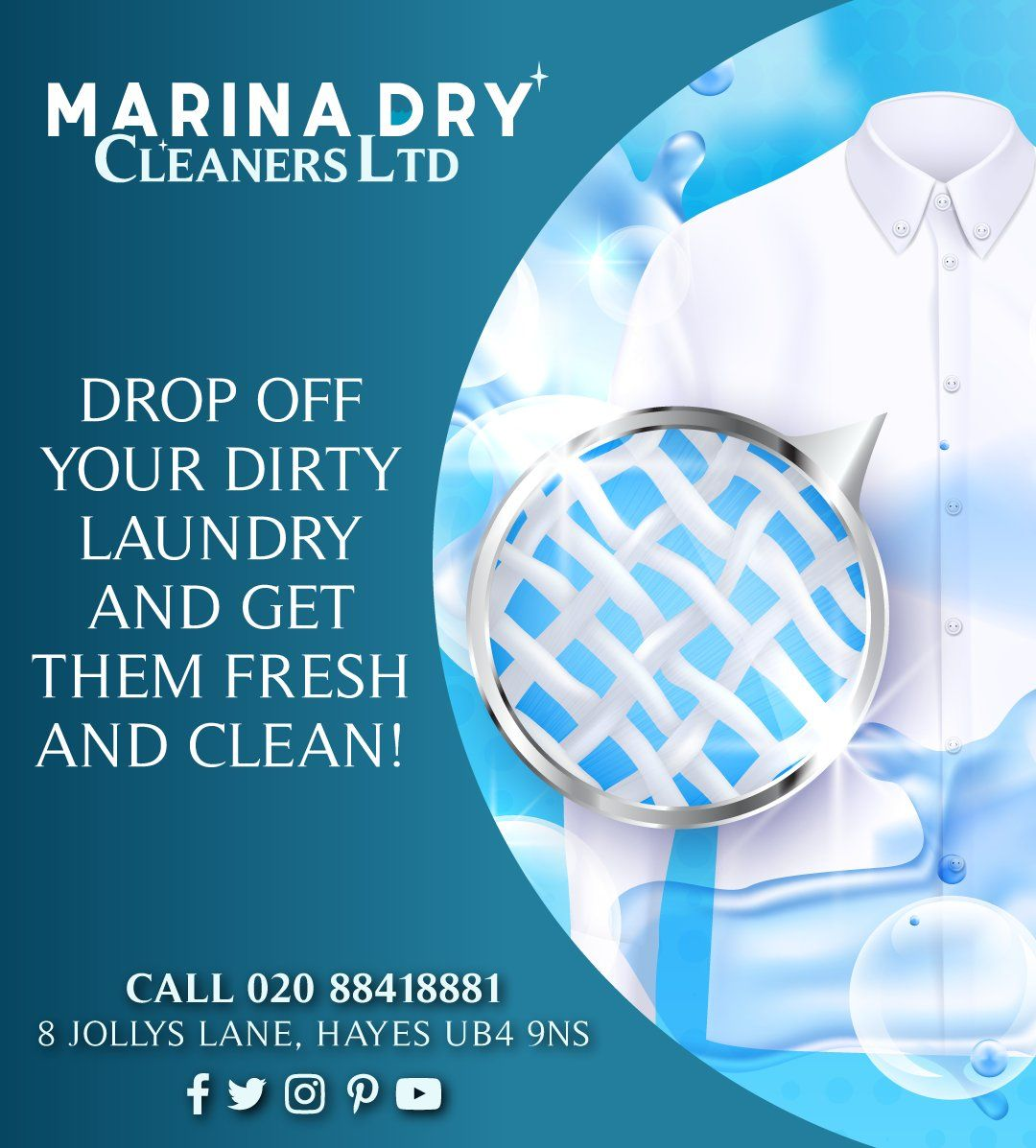 Pin On Marina Dry Cleaners Flyers