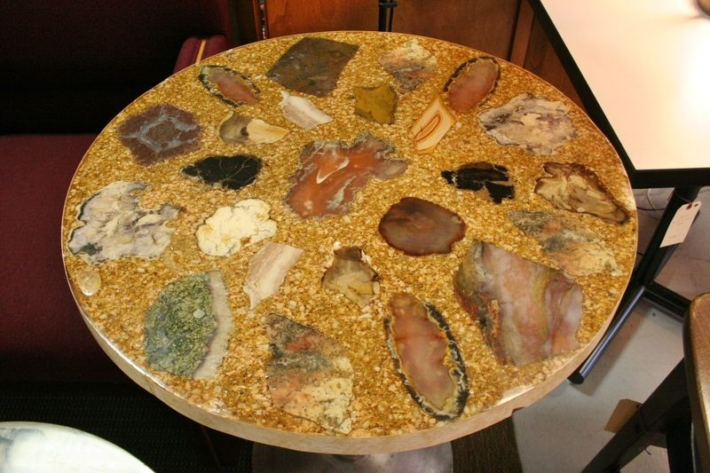 agate table, craigslist Agate table, Home furnishing