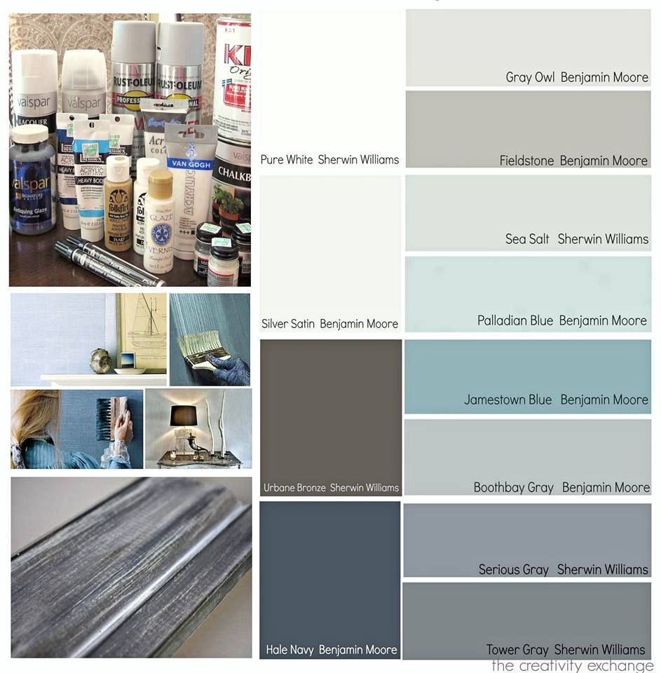 Popular blue gray paint samples home paint colors for Blue gray paint for kitchen