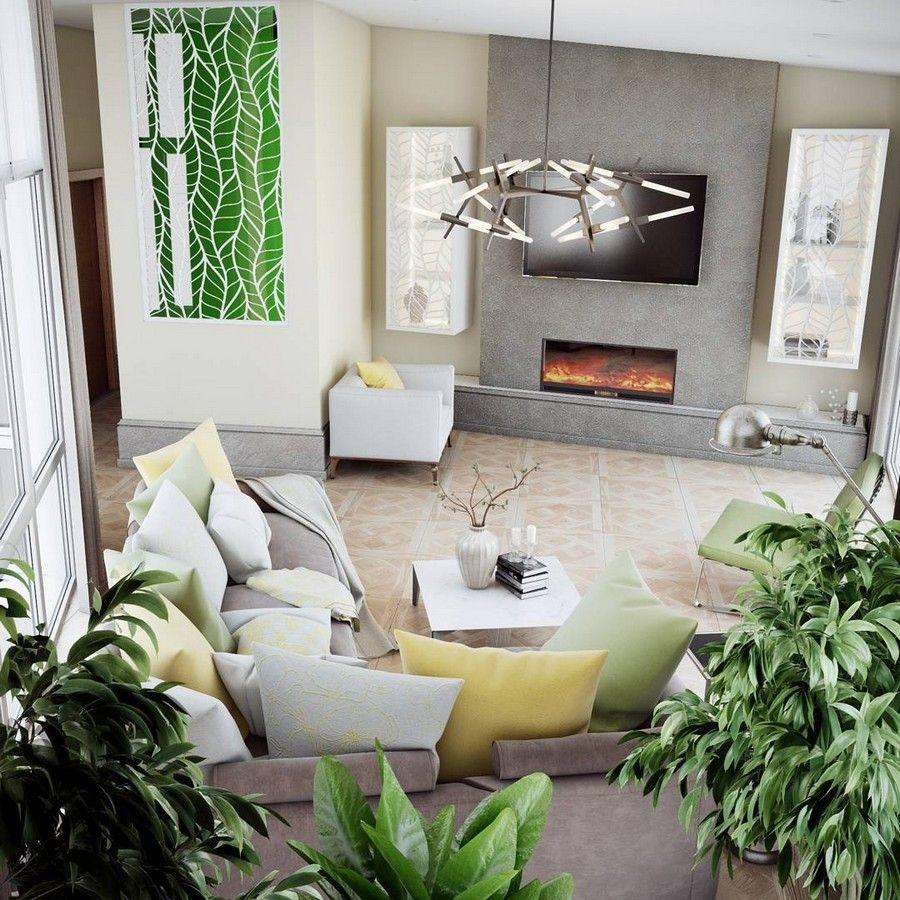 10 Fresh Living Room Interior Ideas from Designers ...