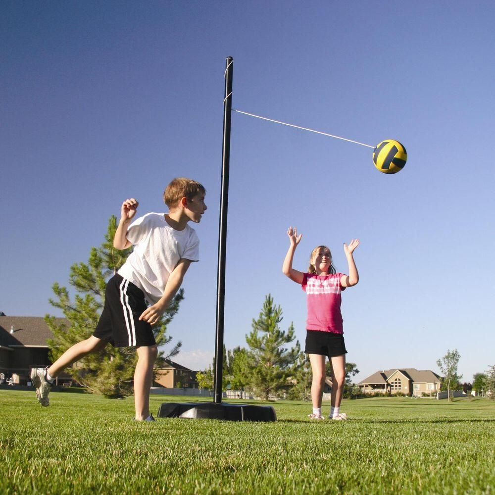 Lifetime Portable Tetherball System 90029 The Home Depot In 2020 Tetherball Outdoor Sports Equipment Tetherball Sets