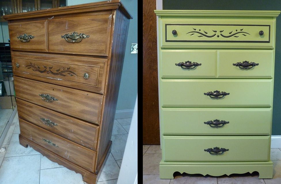 Dresser Had Fake Wood Paper Covering The Particle Board I Sanded It Used Zinsser Primer That Then A Foam Roller For My May Le Behr