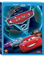 Cars 2 Blu-ray Combo Pack