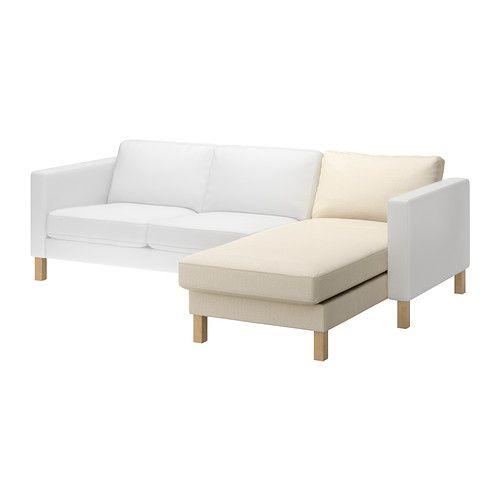 KARLSTAD Divaani, jatko-osa - Isefall luonnonvärinen - IKEA