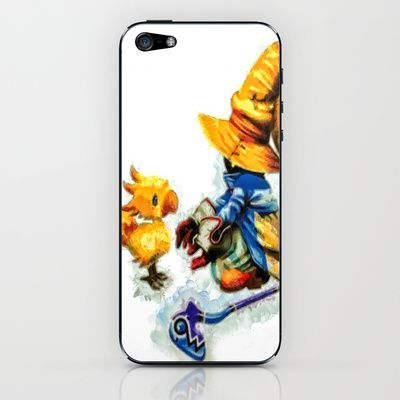 Vivi and the Chocobo Final Fantasy 9 iPhone & iPod Skin | Final fantasy, Fantasy, Ipod skin