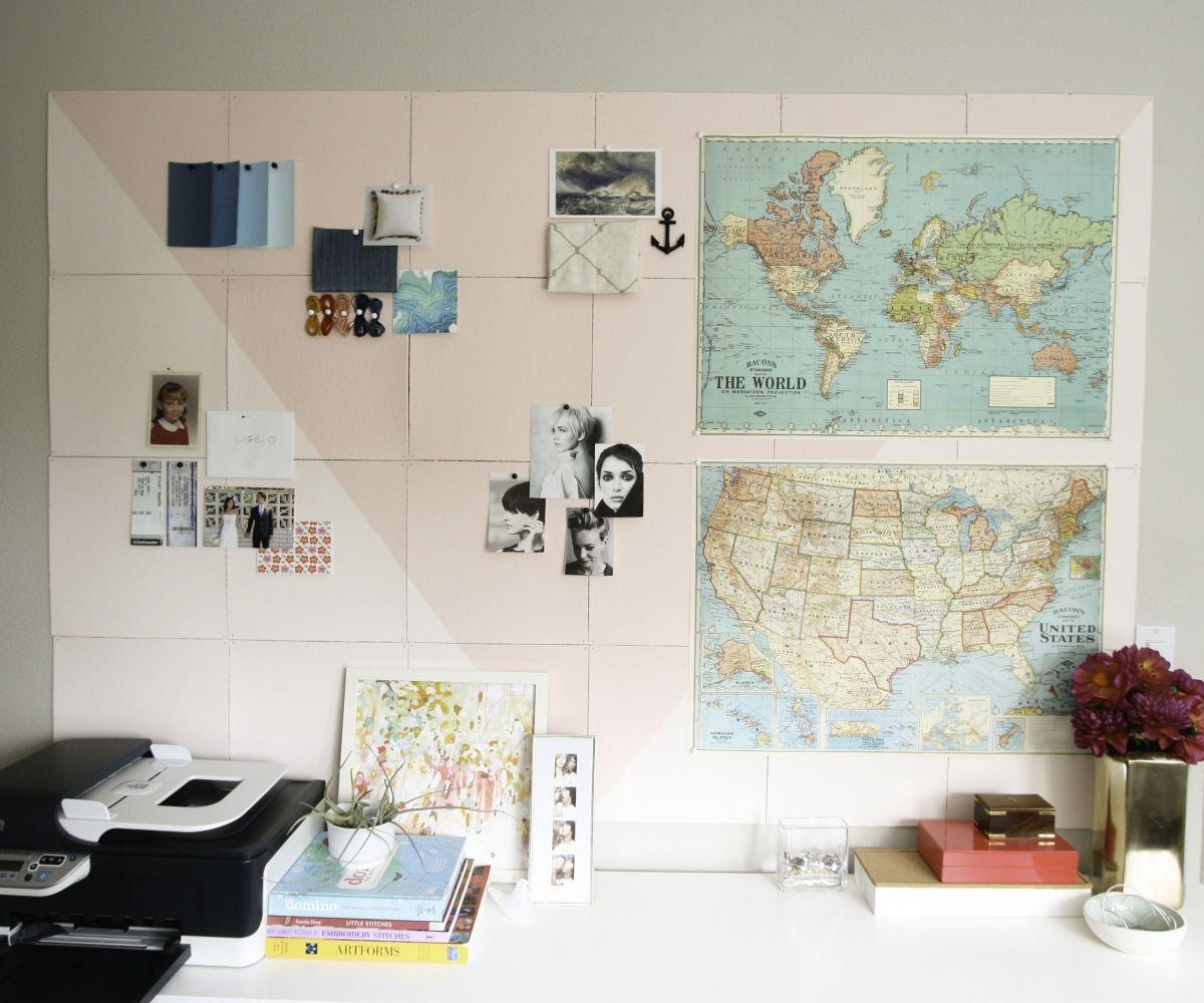 27 Smart DIY Cork Board Ideas For Your Home & Office | Cork boards ...
