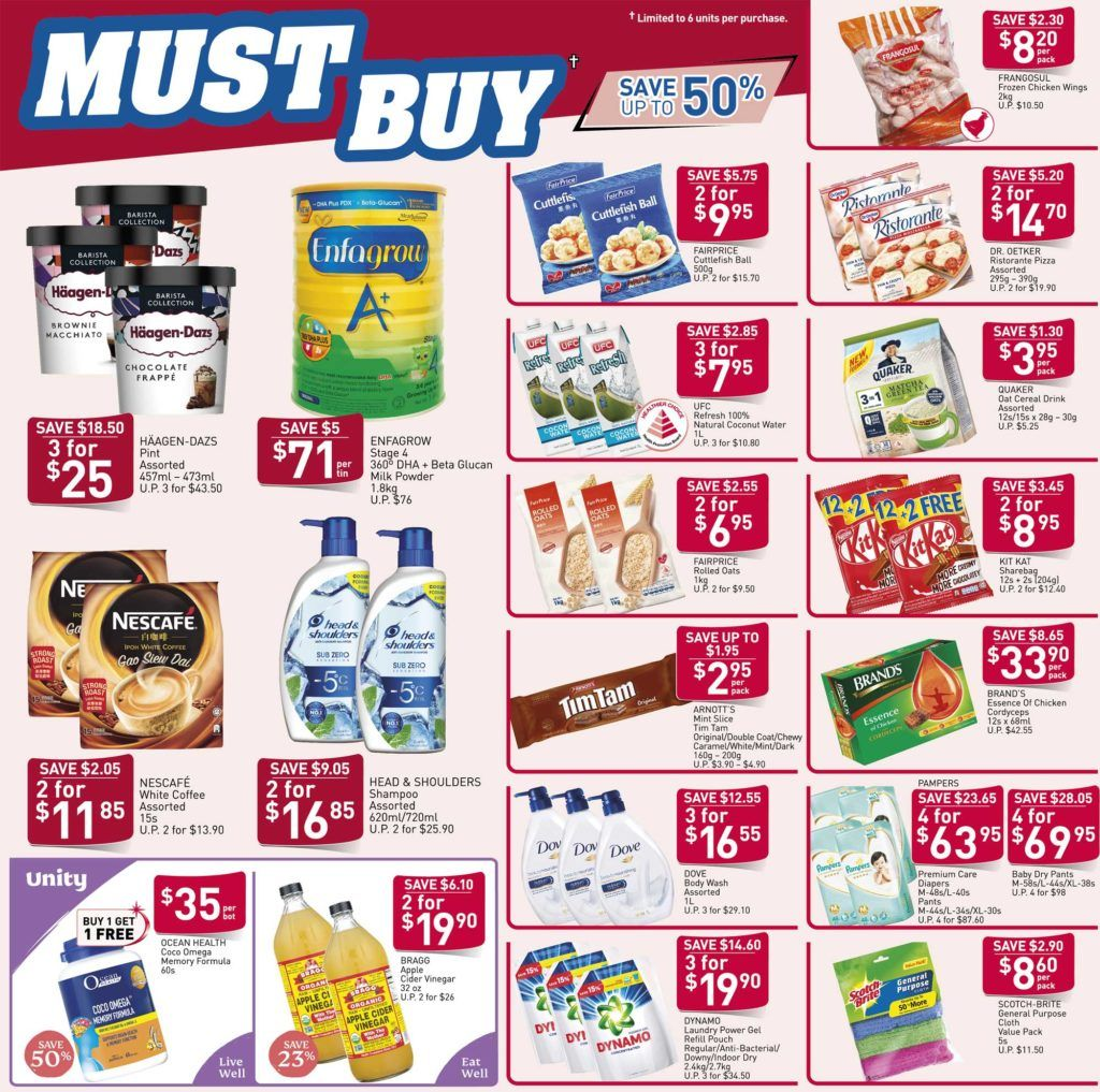 Ntuc Fairprice Sg Your Weekly Saver Promotion 26 Mar 1 Apr 2020 In 2020 Savers Promotion Mar