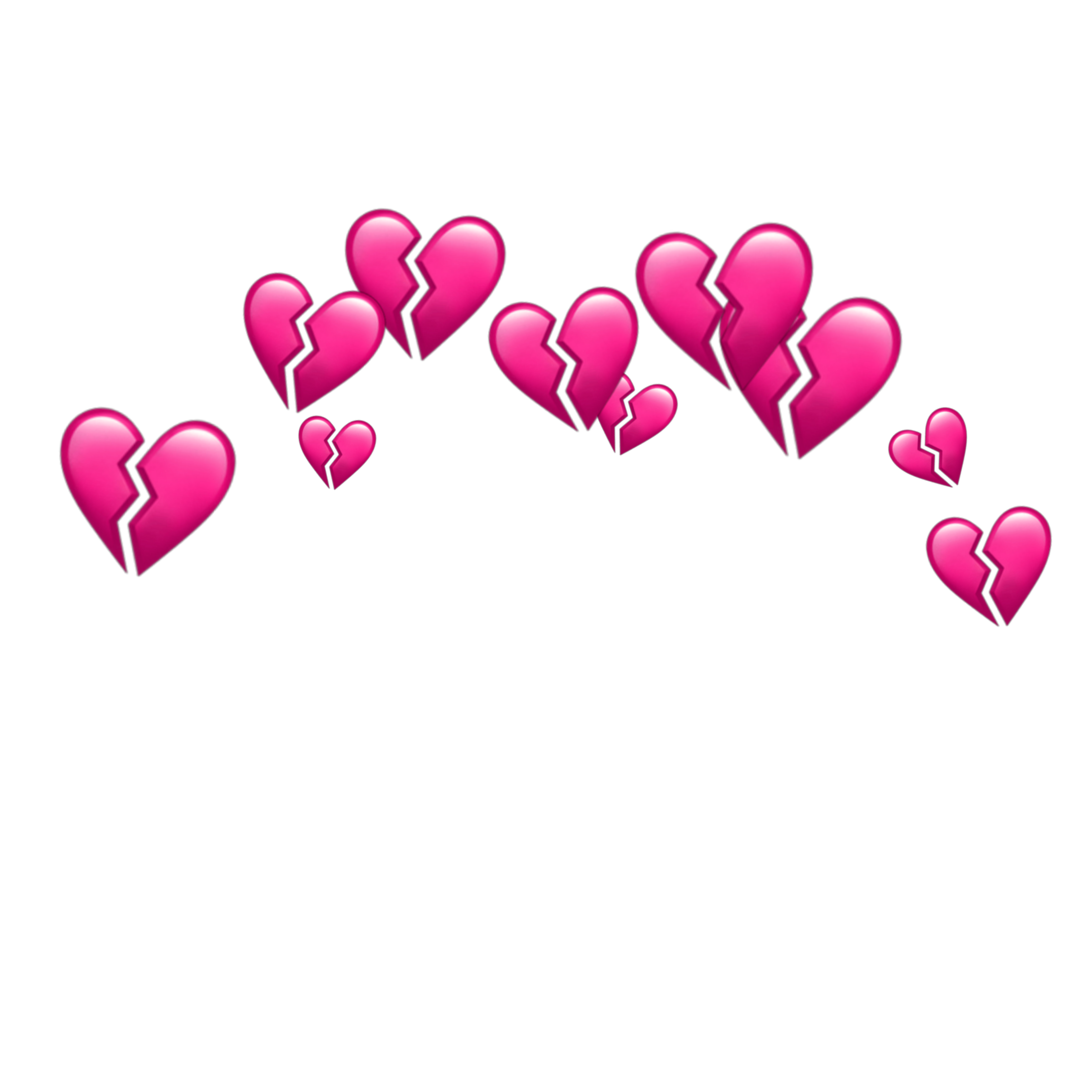 Freetoedit Heart Hearts Crown Tumblr Emoji Emojis Anime Backgrounds Wallpapers Heart Overlay Emoji Wallpaper