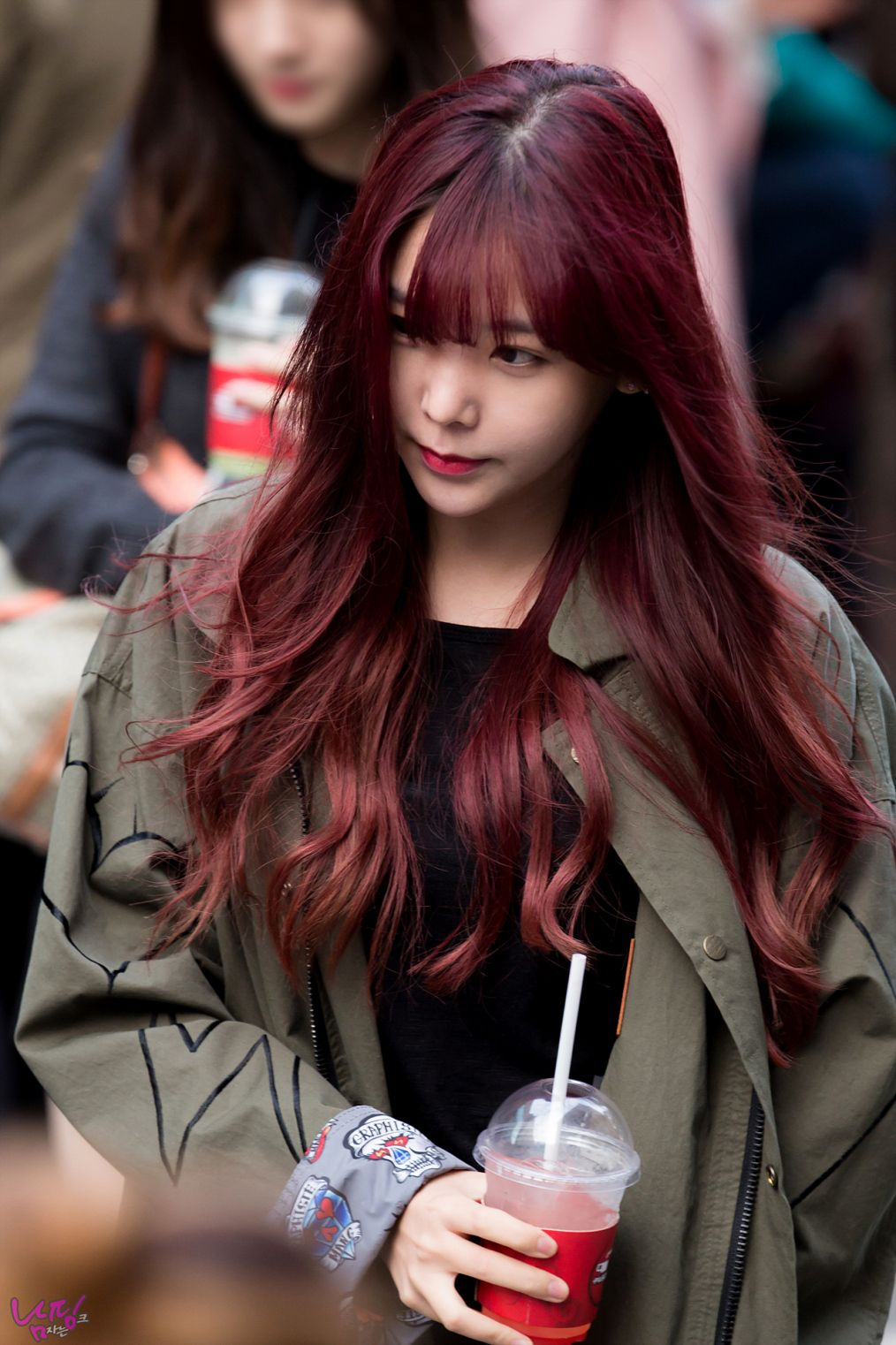 Red Hair Color Japan Best Hair Color Gray Coverage Check More At Http Www Fitnursetaylor Com Red Hair Kpop Hair Color Korean Hair Color Japanese Hair Color