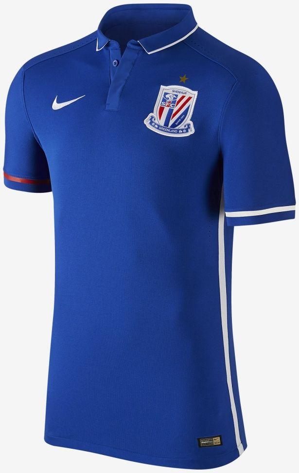 Nike divulga nova camisa titular do Shanghai Shenhua - Show de Camisas 7128967710df2