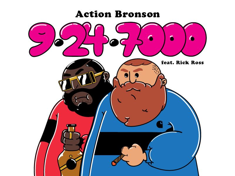 Action Bronson Bronson Character Design Action