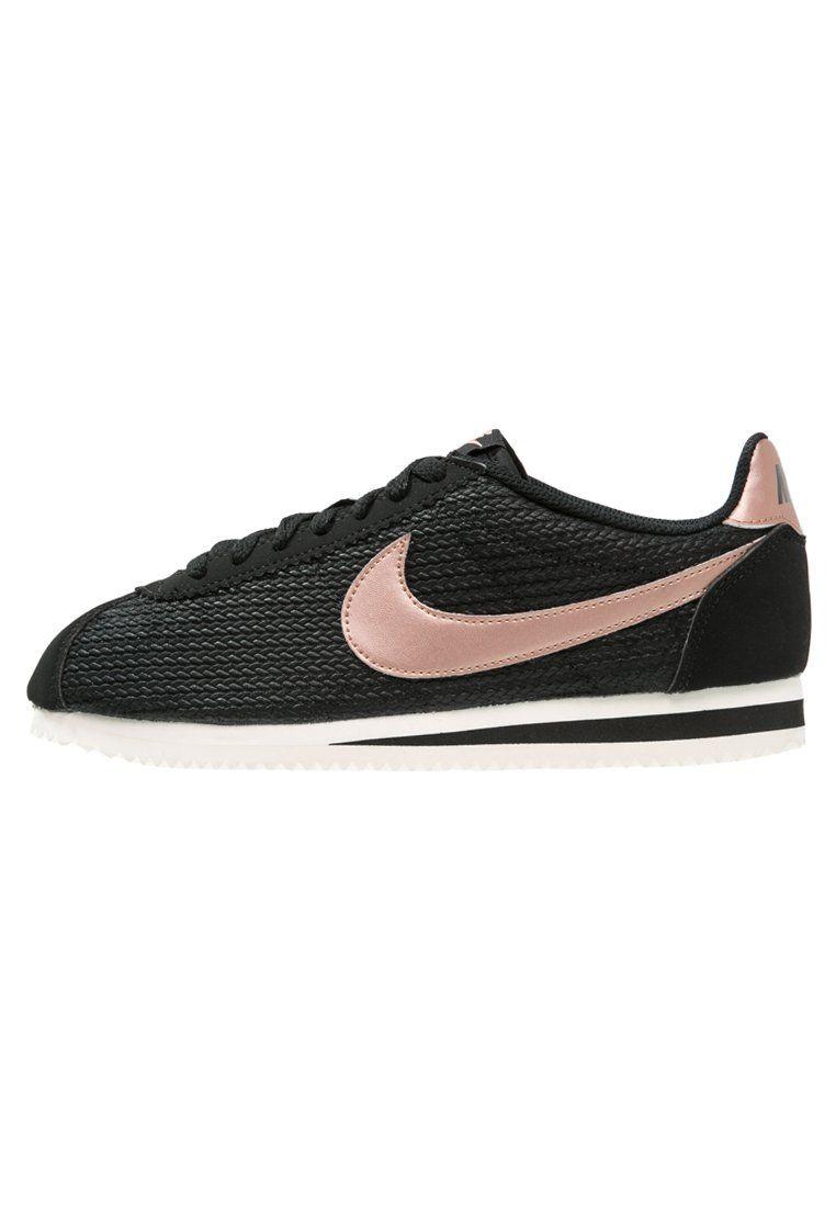 sneakers for cheap 25013 193e6 Nike Sportswear CLASSIC CORTEZ LUX Sneaker low black/metallic red  bronze/sail Schuhe bei Zalando.de | Obermaterial: Leder und Lederimitat, ...