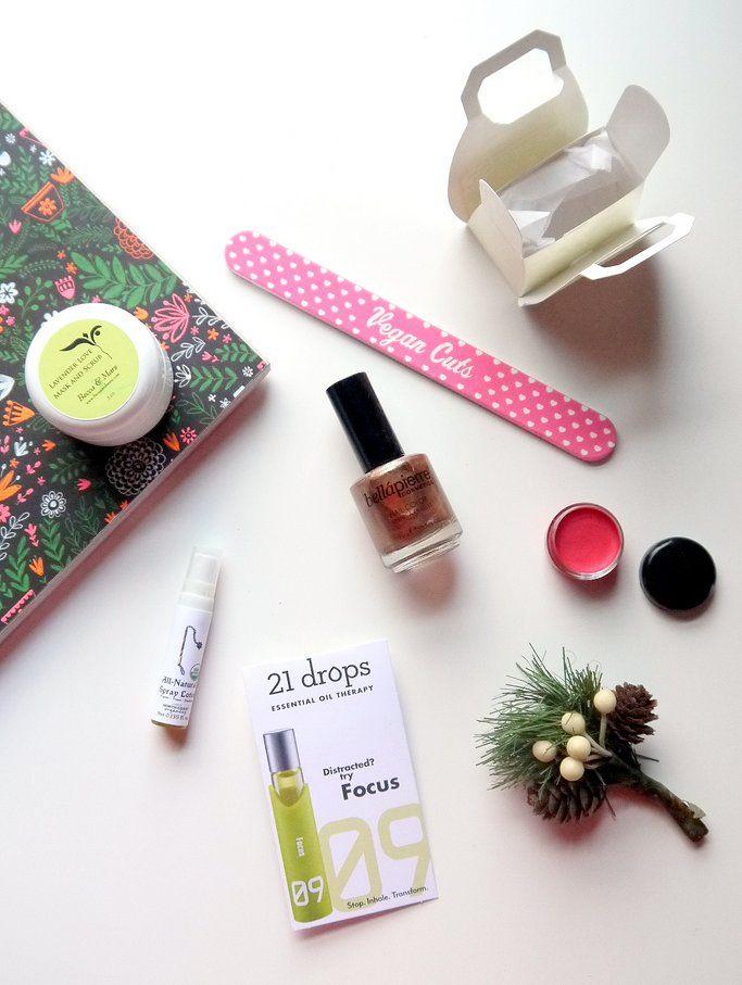 Vegan Cuts Beauty Box December 2014
