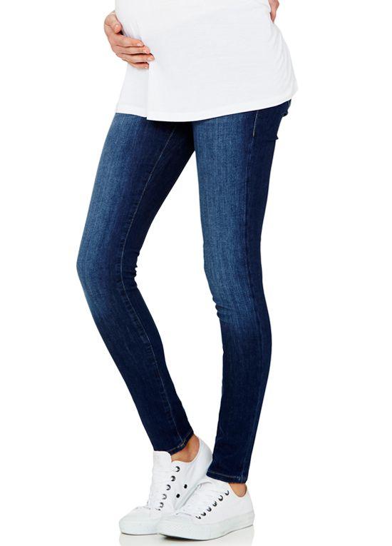 3990a20e14985 Mavi - Reina Dark Indigo Feather Super Skinny Jeans | pregnancy ...