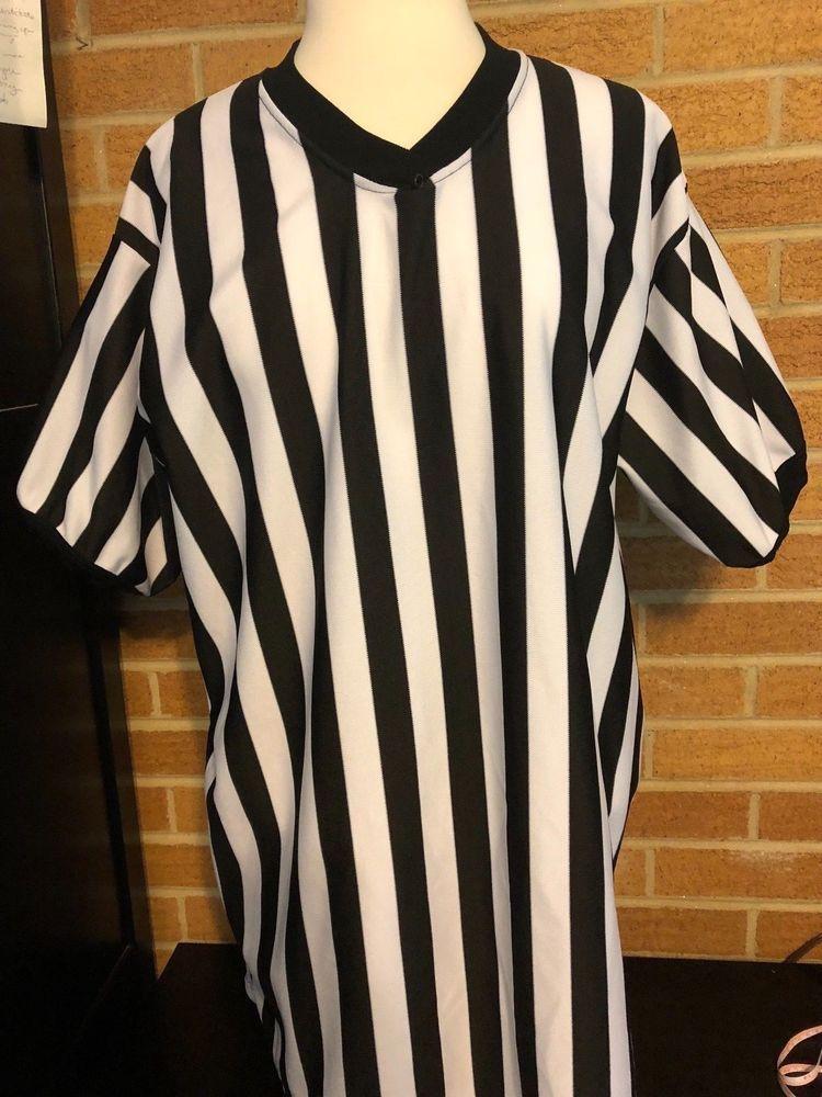 Alleson Athletic V neck Referee Shirt XL short sleeve football baseball  sports  AllesonAthletic  ShirtsTops fd7aea8ba