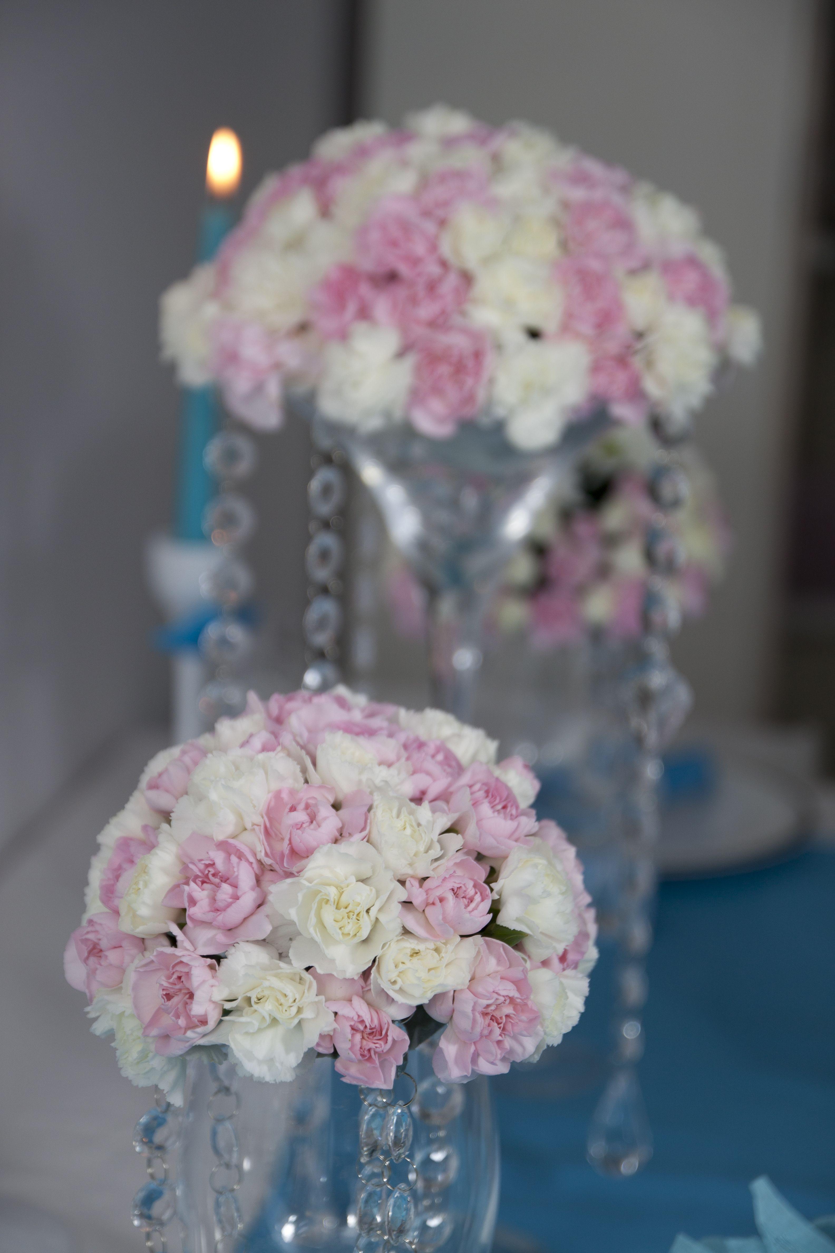 Dekoracje Slubne Bukiet Kwiaty Gozdziki Wedding