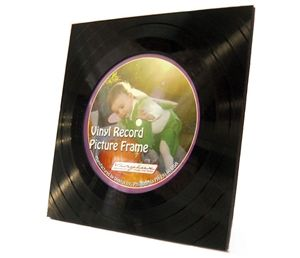 A great gift for music lovers! Vinyl record picture frames are a tribute to re-use as they are made from the scrap 'donuts' left over in production of vinyl record coasters (also available from Hatch). A rear panel allows you to insert a 5″x 5″ image. Frame can stand on a table or hang on a wall. www.hatchecolifestyle.com