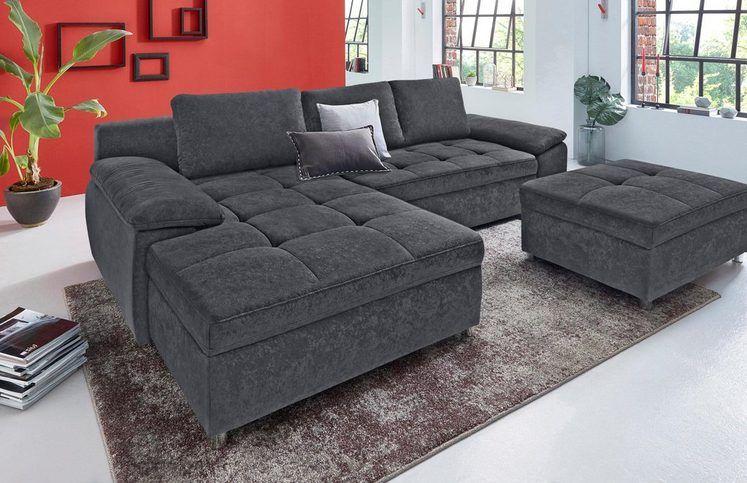 Sit More Ecksofa Labene Wahlweise Mit Bettfunktion Und Bettkasten Online Kaufen Otto Ecksofa Ecksofas Sofa