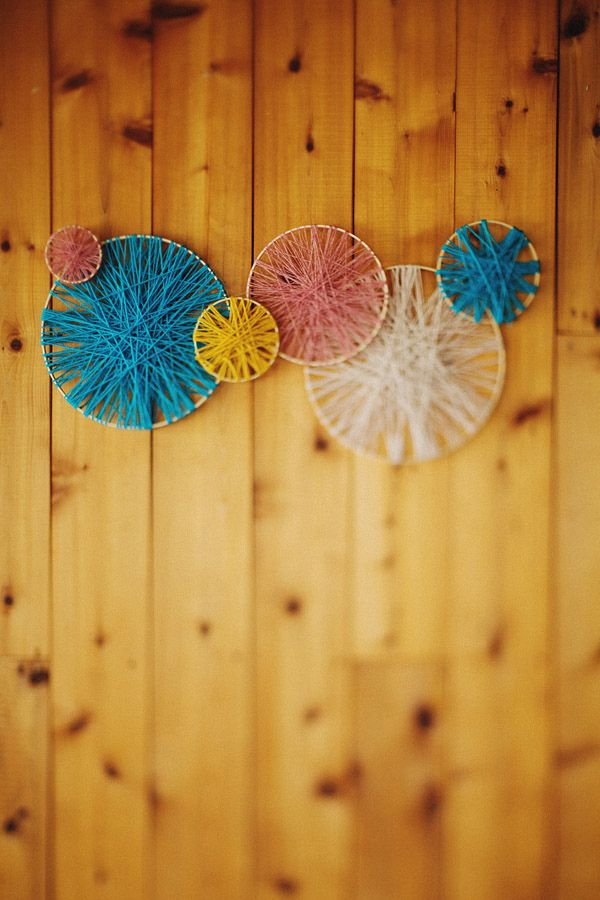 Do It Yourself Home Decorating Ideas: Colorful Rustic Wedding Fiesta
