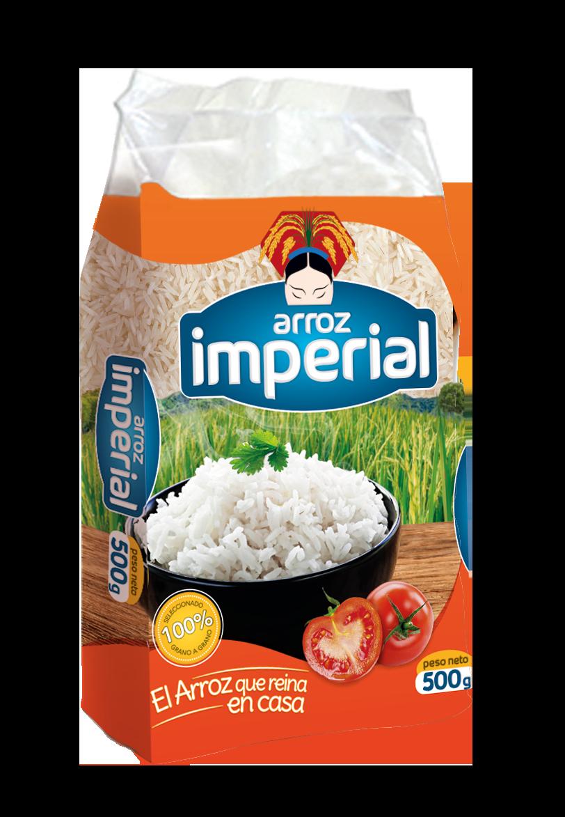Download Empaque Arroz Imperial Ide Makanan Makanan Desain Kemasan
