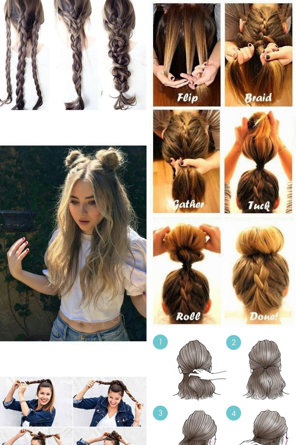 31 Awesome Easy Hairstyles Ideas Hair Styles Fancy Hairstyles Easy Hairstyles
