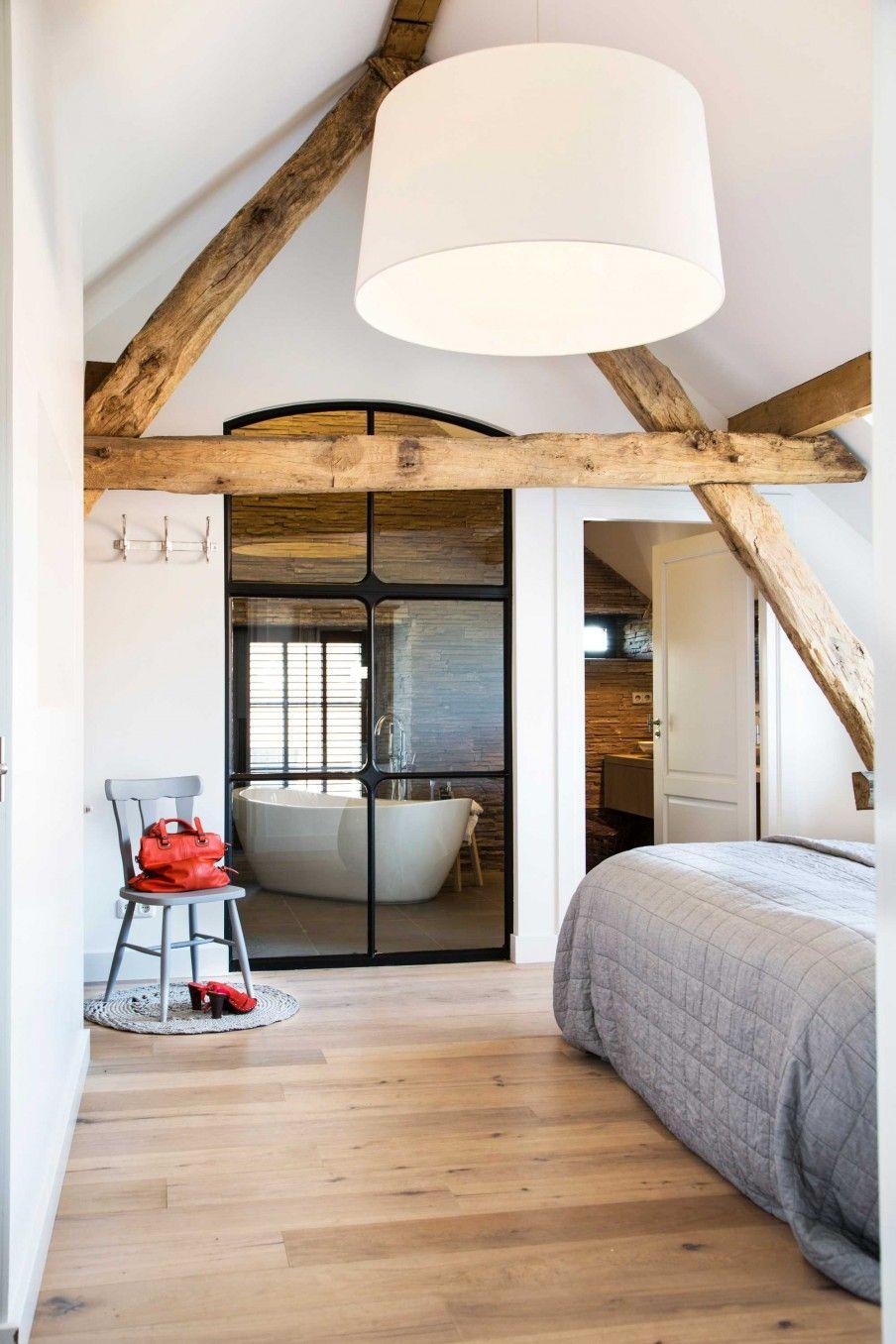 retour aux sources dans la ferme r nov e planete deco a homes world home pinterest ferme. Black Bedroom Furniture Sets. Home Design Ideas