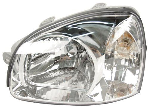 Robot Check Headlight Assembly Headlights Hyundai Santa Fe
