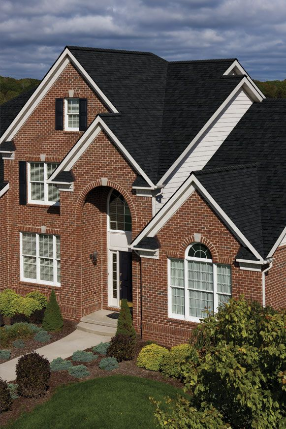 Trudefinition Duration Storm Shingles Onyx Black Roof Colors Exterior Homes