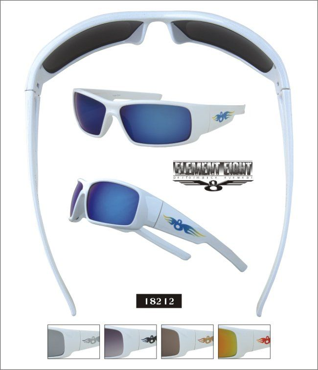 Element Eights - Item 18212  Nice white frame - great for spring!  Love these!  http://www.superflysunglasses.com/product/18212  $21.99