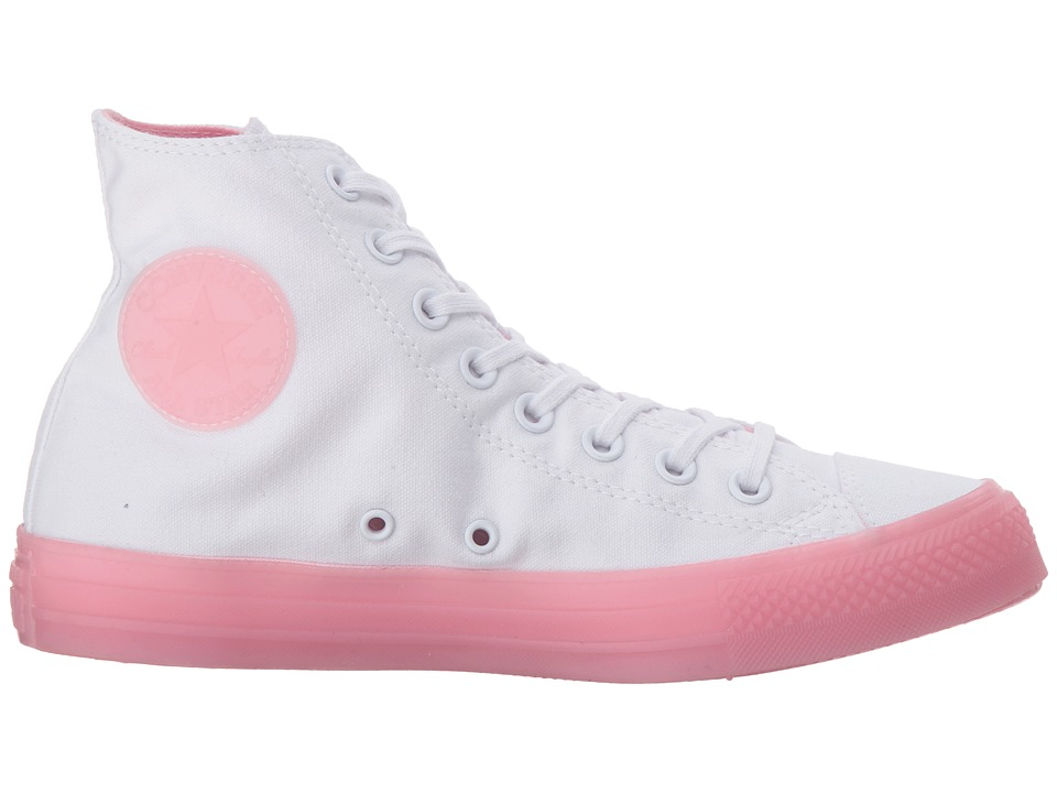 273b9cc78cb Converse Chuck Taylor(r) All Star(r) Hi - Jelly Women's Classic Shoes  White/Cherry Blossom/Cherry Blossom