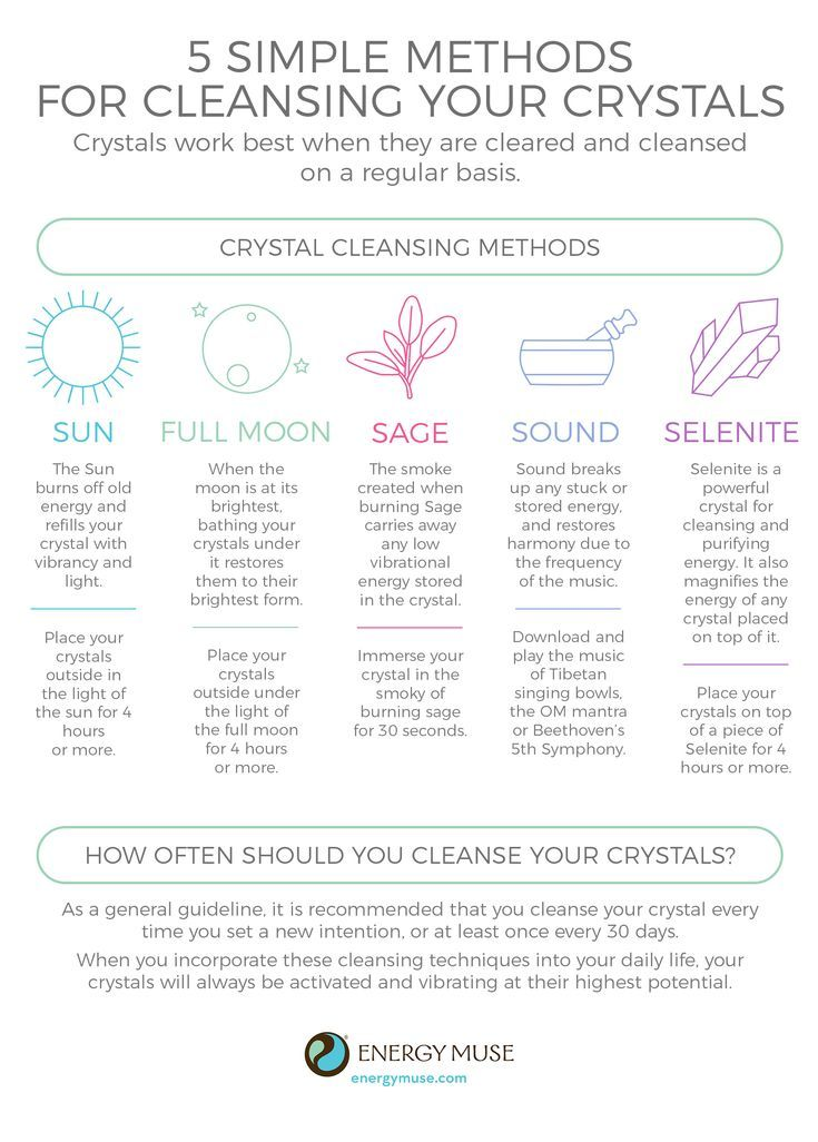 Cleansing your crystals healing stones and crystal