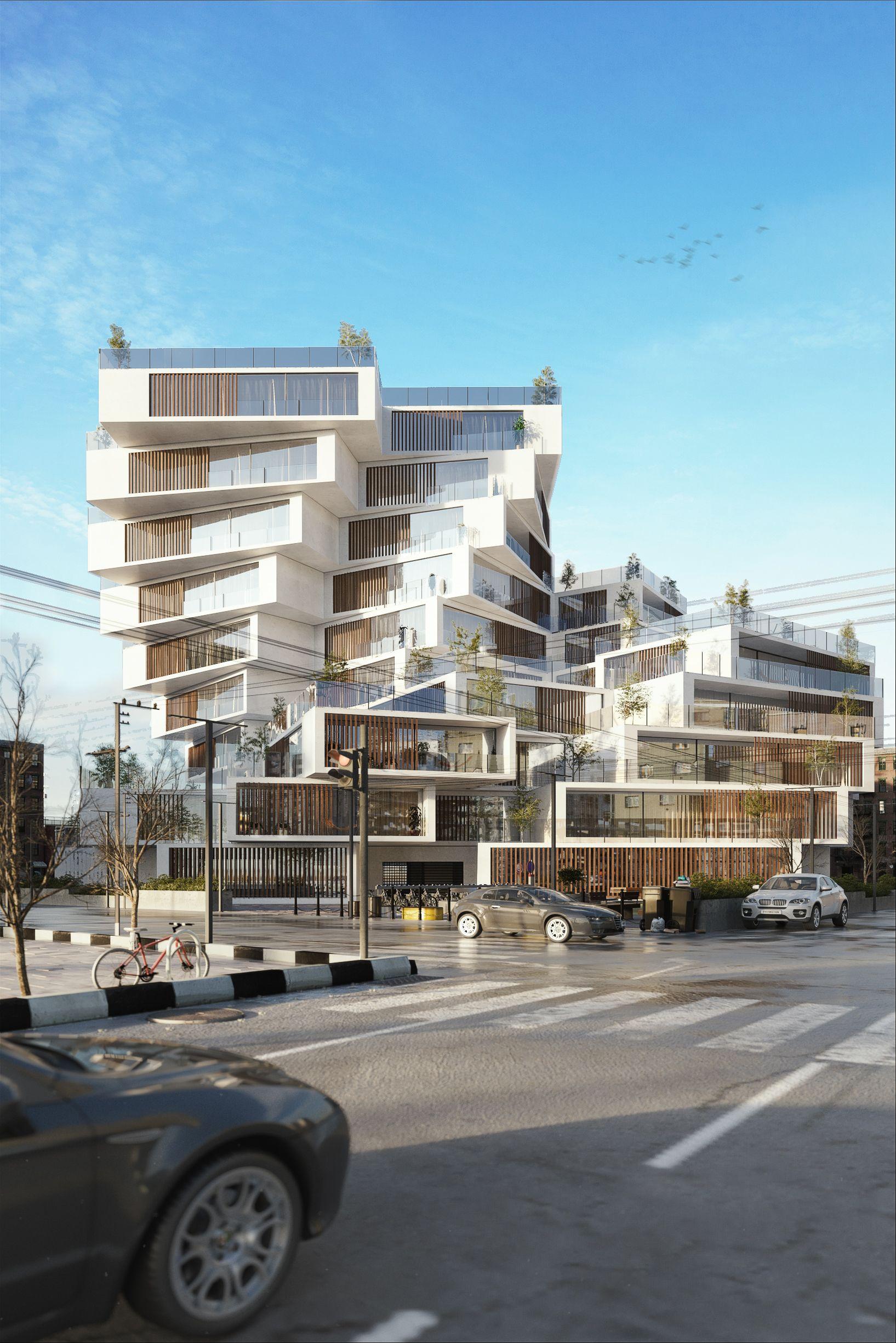 Residential comples design \u0026 visualization by Milad Eshtiyaghi ...