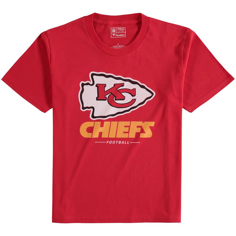 16f096cd4 Kansas City Chiefs NFL Pro Line Youth Team Lockup T-Shirt - Red ...