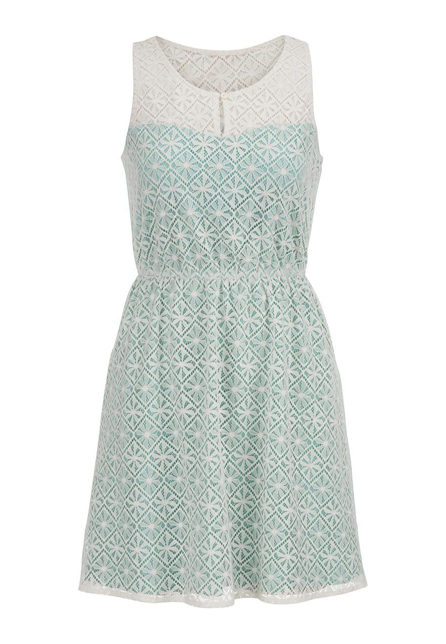floral lace overlay dress - maurices.com Blue would work for a ...
