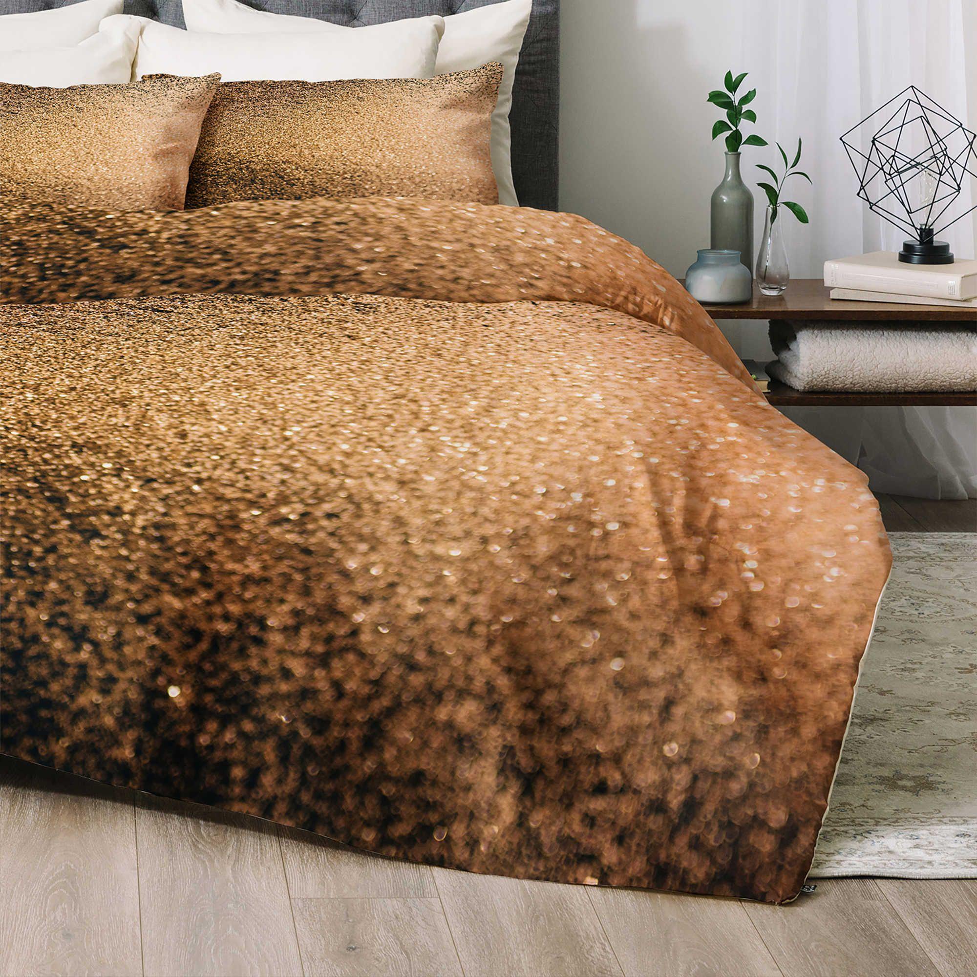 Deny Designs Chelsea Victoria Gold Dust King Comforter Set