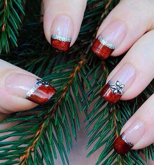 30 ideias de Nail Art para usar no Natal 2021 | We