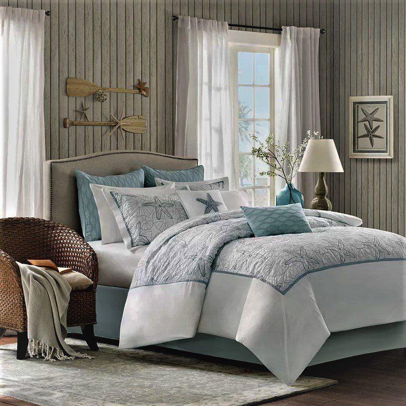 Best Coastal Bedding Ideas Beach House Comforter and
