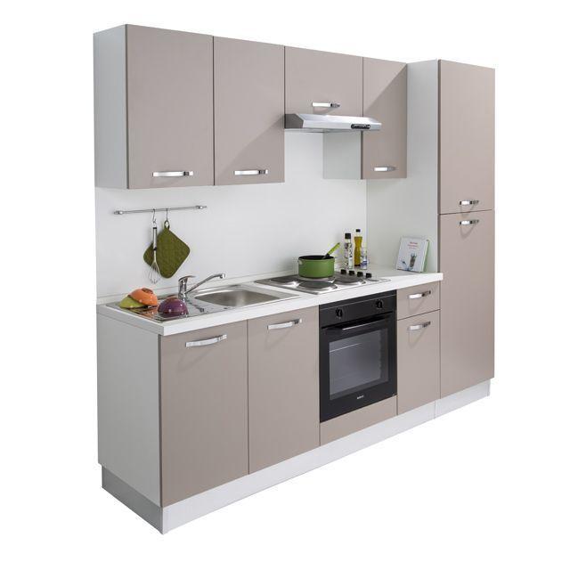 Cuisine Castorama Promo Cuisine Pas Cher Achat Cuisine Complete All In 2 Me Diseno De Interiores De Cocina Cocinas De Casas Pequenas Diseno Muebles De Cocina