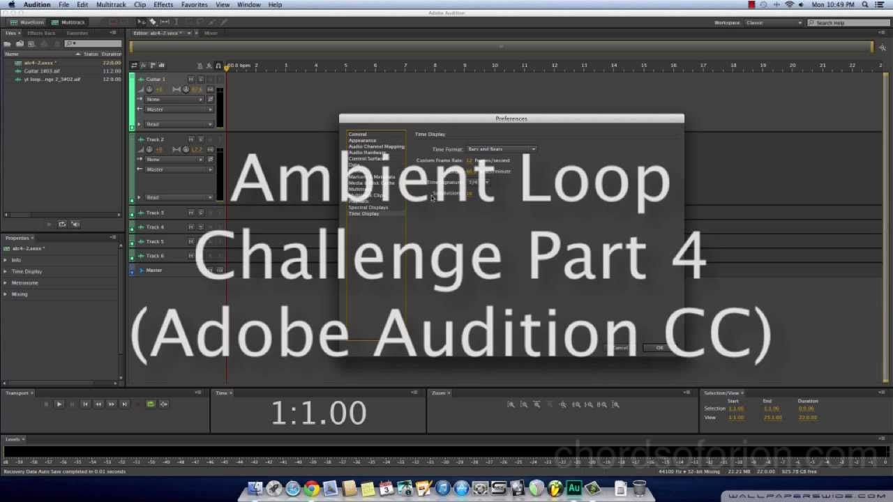 Creating Ambient Guitar Loops With Adobe Audition Cc Ambient Guitar Loo Adobe Audition Ambient Ambient Music