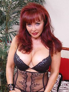 Attractive red headed milf