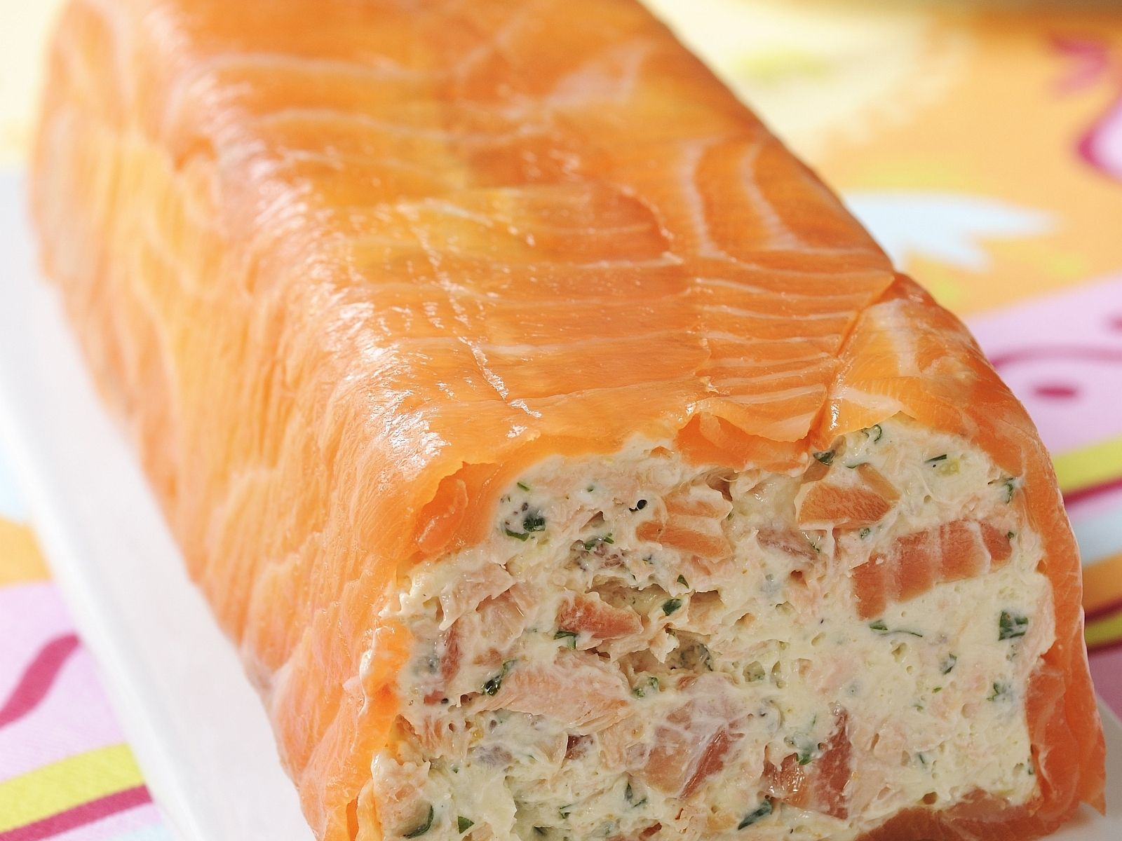 Photo of Terrine with smoked salmon