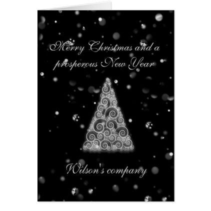 Christmas tree corporate calendar 2018 holiday card   Xmas