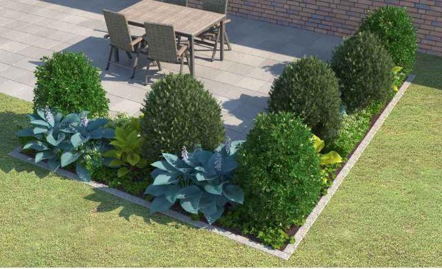 wirkungsvolle beete mit einer reduzierten pflanzenauswahl wirkungsvoll gestalten wir zeigen. Black Bedroom Furniture Sets. Home Design Ideas